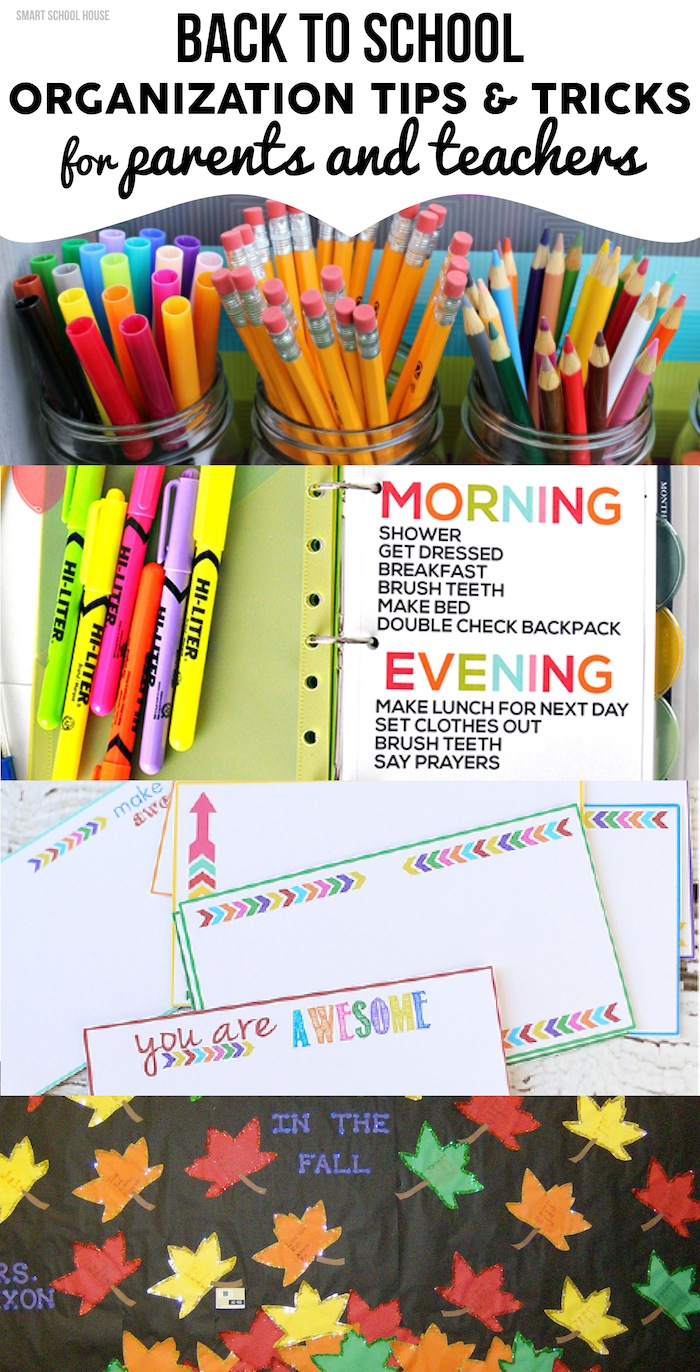 Back to school organization - Back to school organization ...