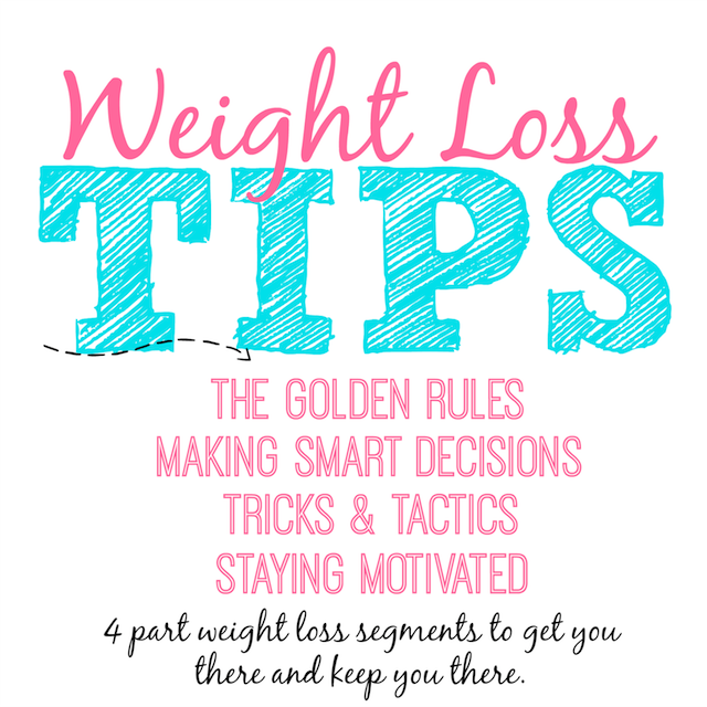 Tips For Effective Weight Loss: Healthy Living Tips For Women