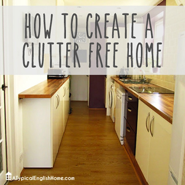 How to Create a Clutter Free Home