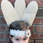 Burlap & Lace Turkey Feather Headband