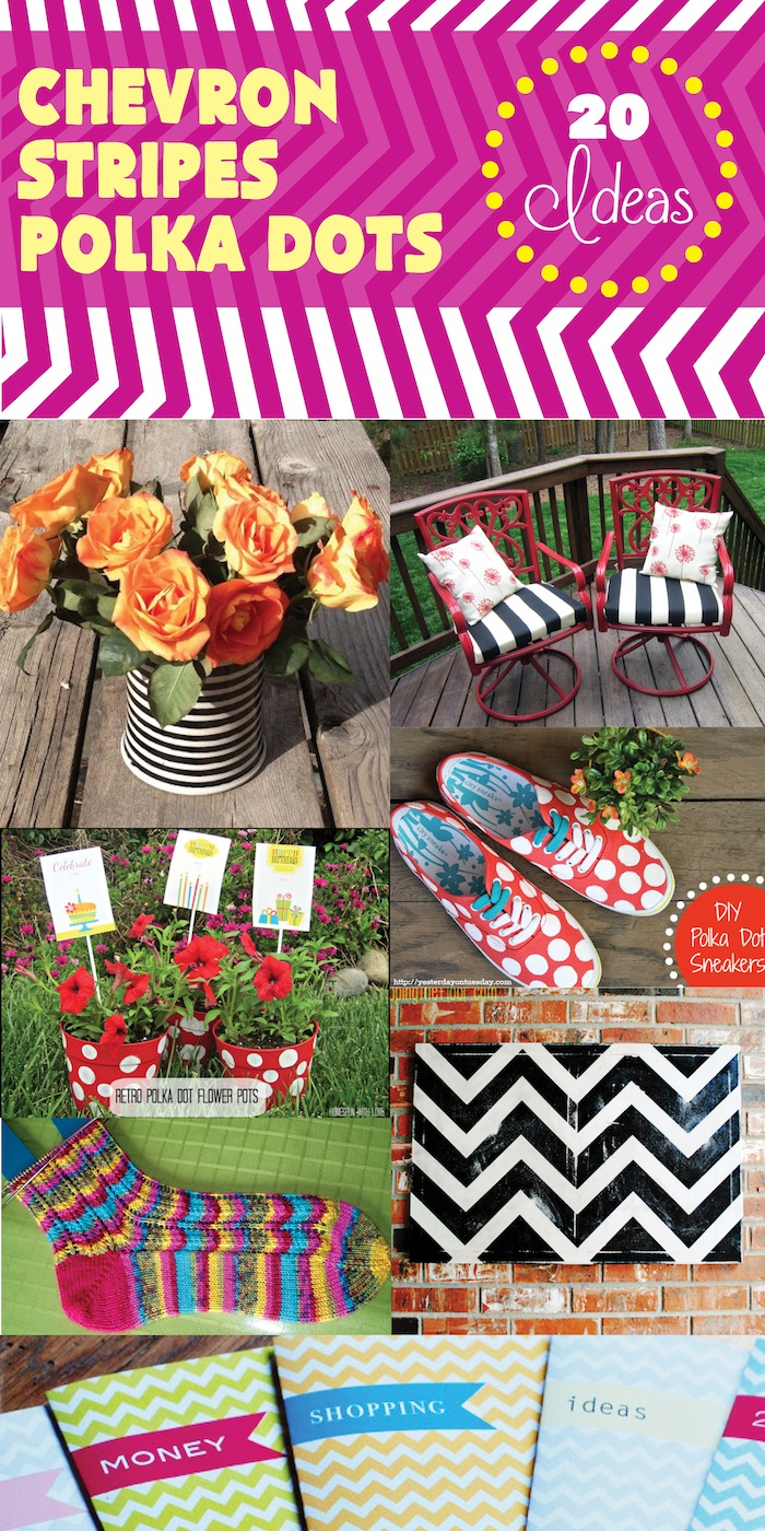 Chevron stripes polka dots smart school house for Dots and stripes party theme