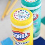Clorox Wipes Gift Tag