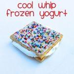 Cool Whip Frozen Yogurt