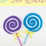 DIY Felt Lollipop