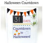 DIY Halloween Countdown