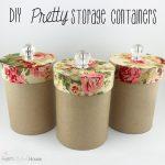 DIY Pretty Storage Container
