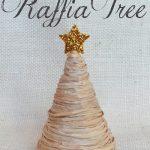 Rustic Raffia Tree