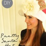 DIY Pretty Santa Hat