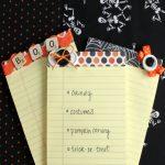 DIY Halloween Notepads