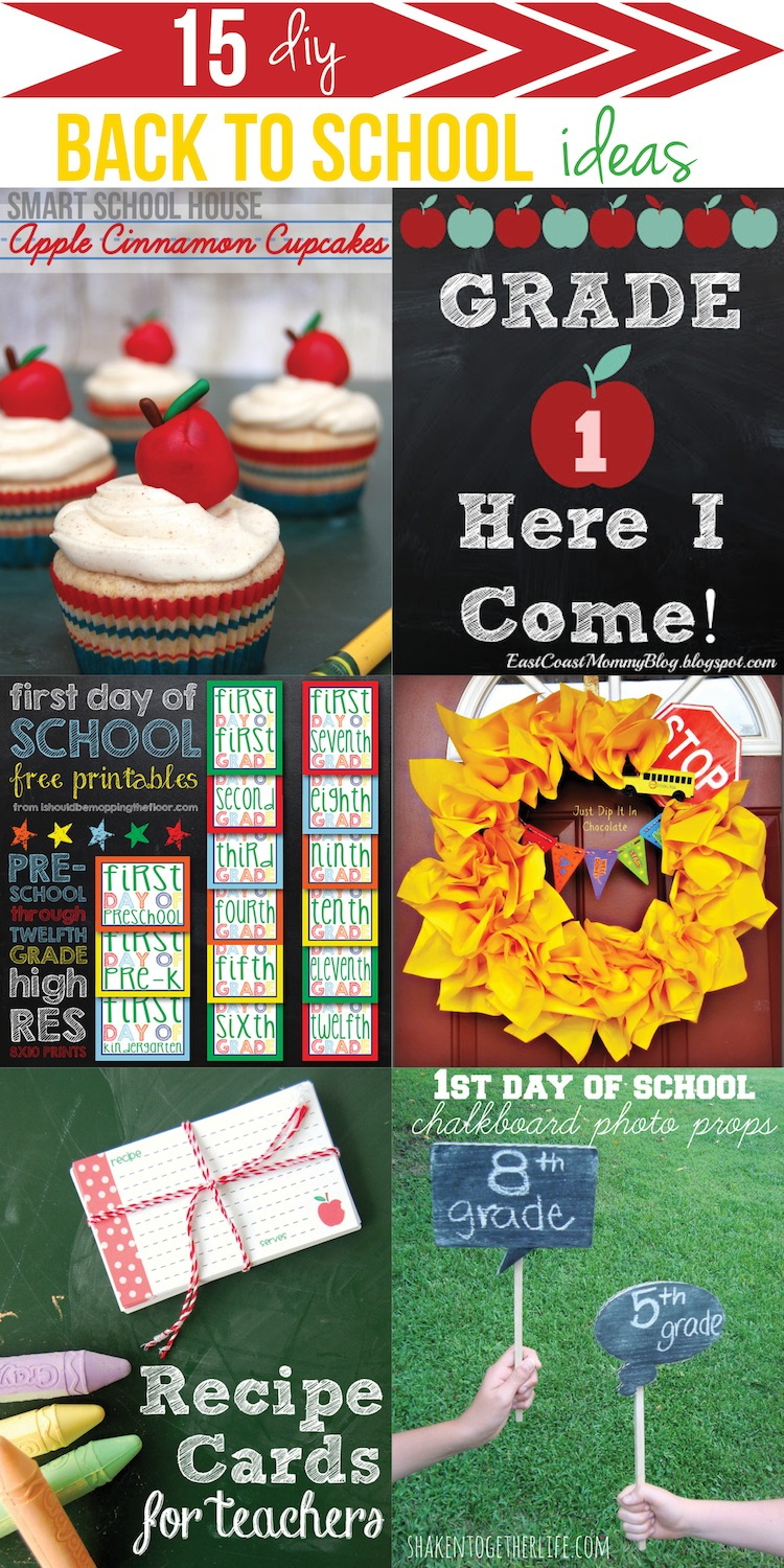 Back to school ideas for Back to school decoration