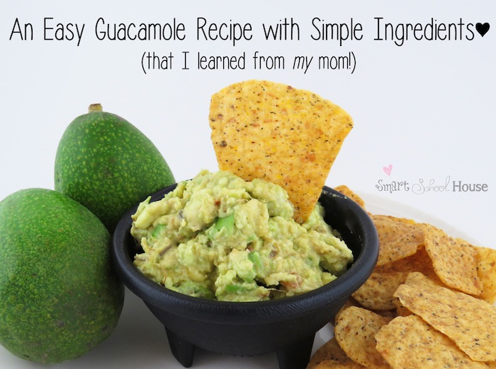 Easy Recipe for Guacamole