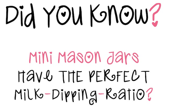 Mini Mason Milk-Du..