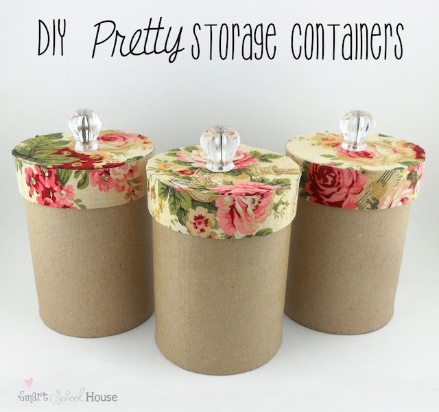 Exceptionnel DIY Pretty Storage Containers