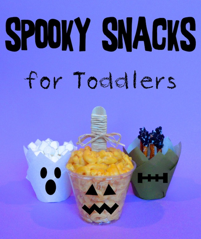 Spooky Snacks for Toddlers