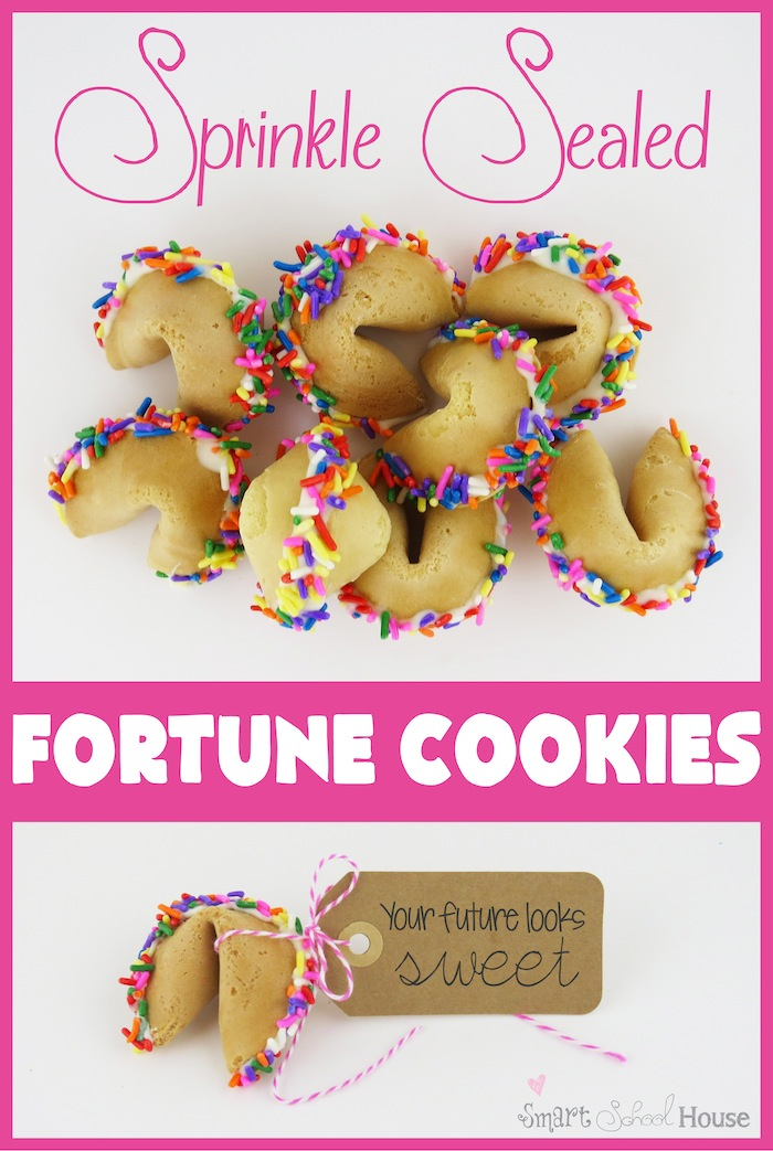 Sprinkle Sealed Fortune Cookies