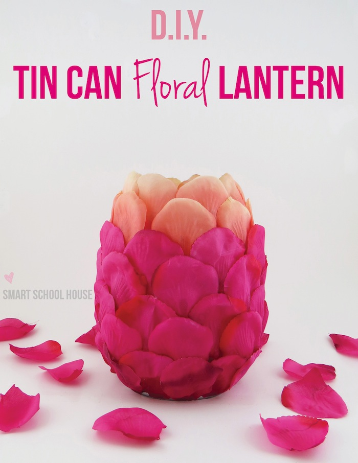 Tin Can Lantern: Published in All You Magazine by smartschoolhouse.com #DIY