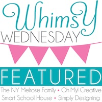 Whimsy Wednesday Link Party Button