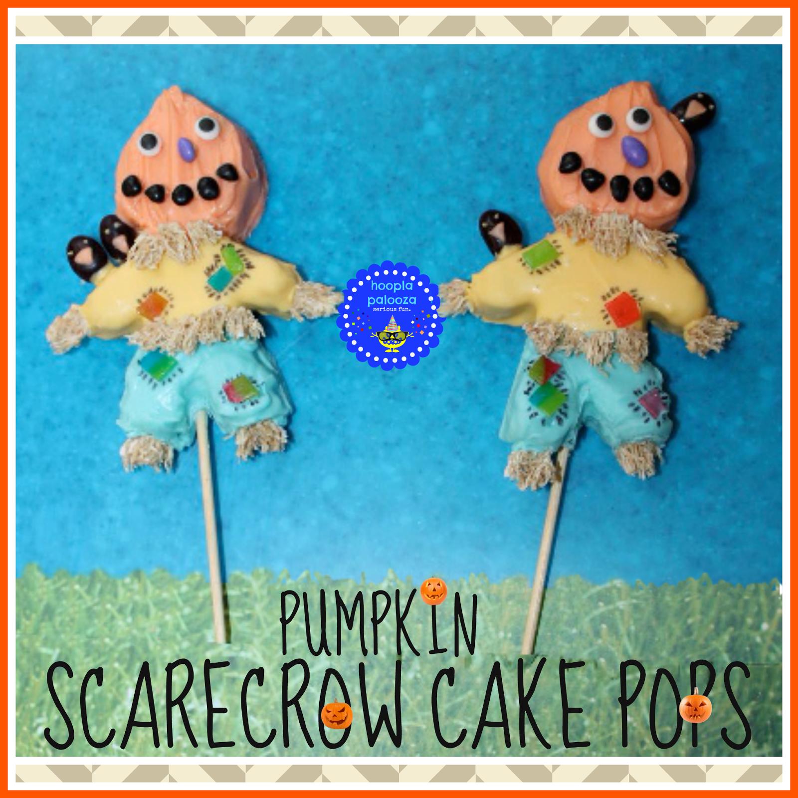 Scarecrow Cake Pops