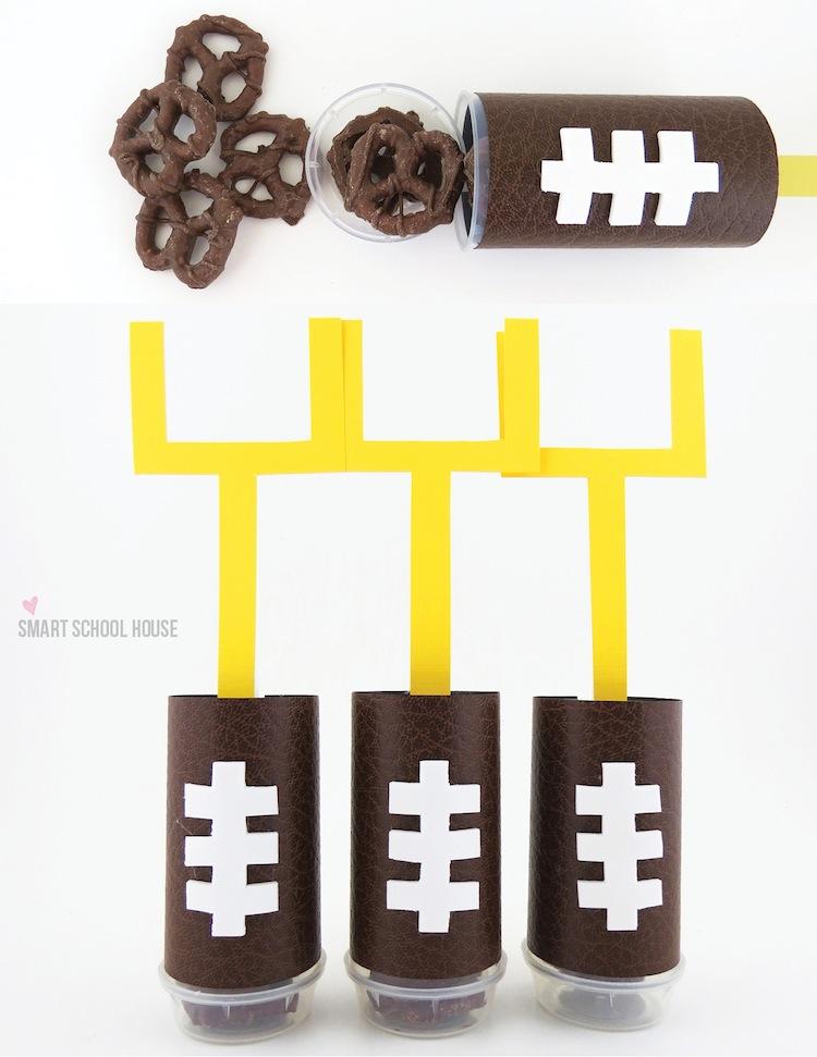 Football Snacks: Pretzel Pops
