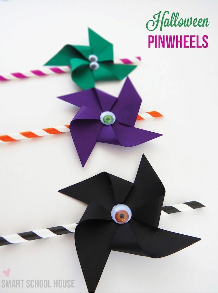 Halloween Pinwheels