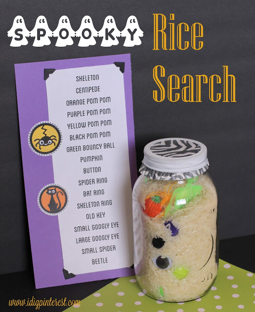 Spooky Rice Search