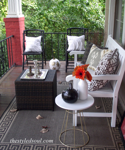 Cozy Fall Porch