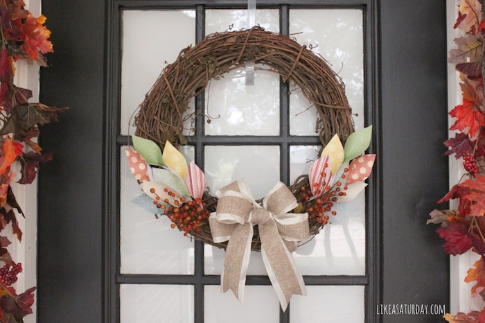 Crafty Fall Wreath