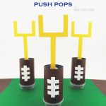 Football Push Push Pops