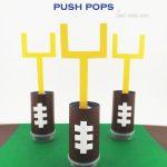 Football Push Push Pops