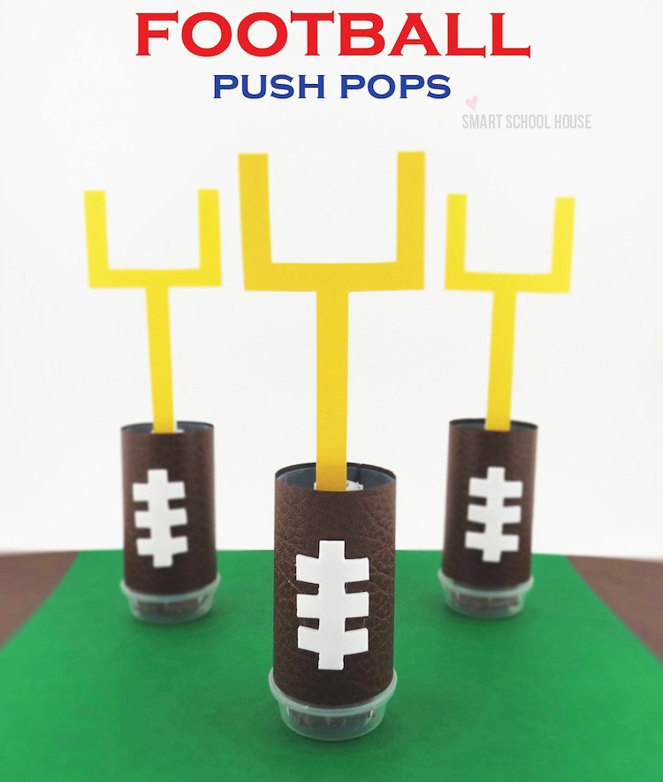 Football Push Pops