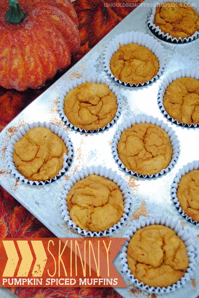 Skinny Pumpkin Spiced Muffins