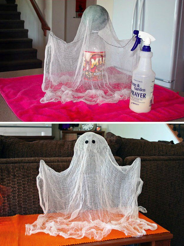How to Make Floating Ghosts