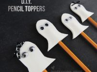 Ghost Pencil Toppers