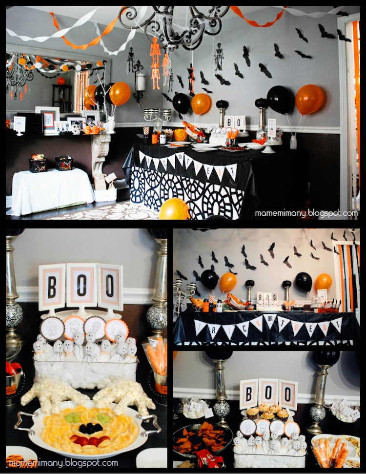 DIY Decor for a Halloween Party