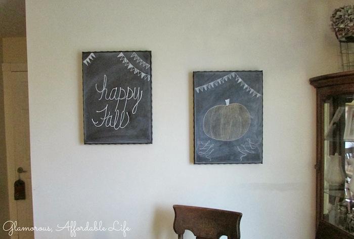 Fall Chalkboards
