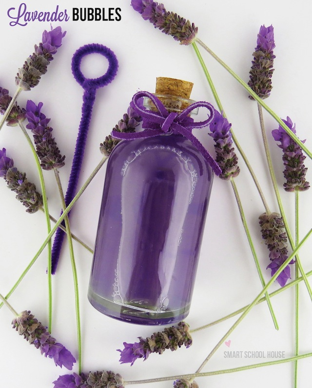 DIY Lavender Bubbles by Smart School House