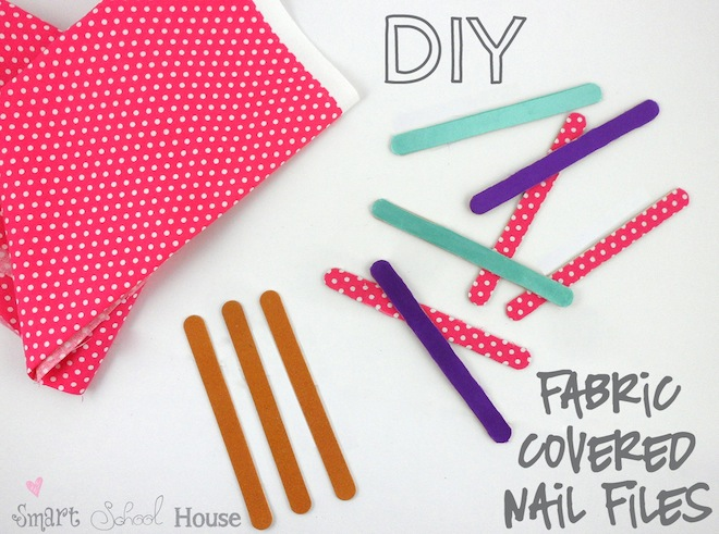 DIY Fabric Covered Nail Files