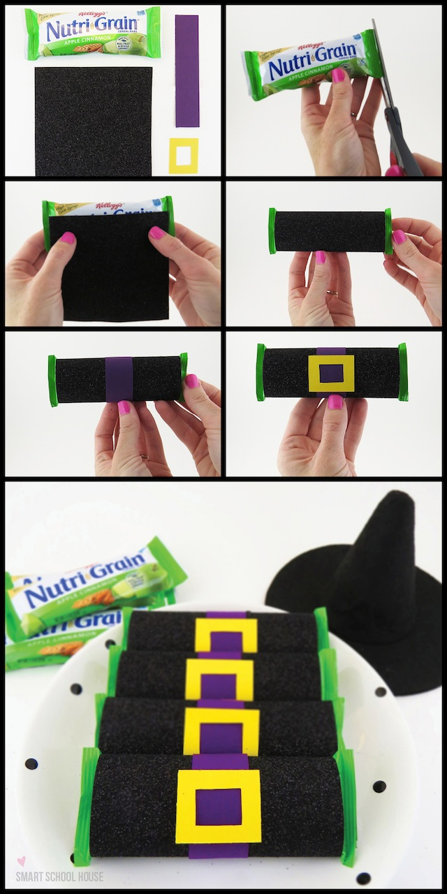 How to Make Nutri-Grain Bar Witches