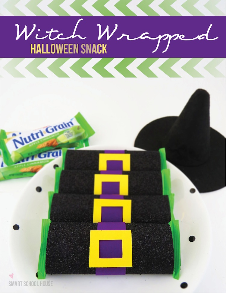 Witch Wrapped Halloween Snack