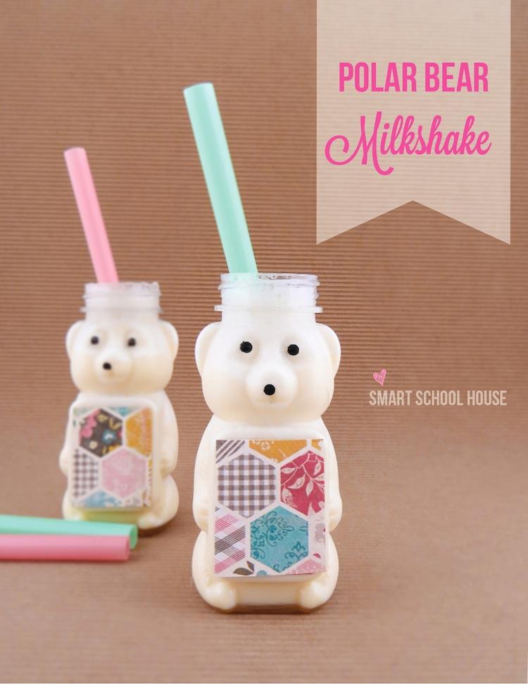 Vanilla Polar Bear Milkshake