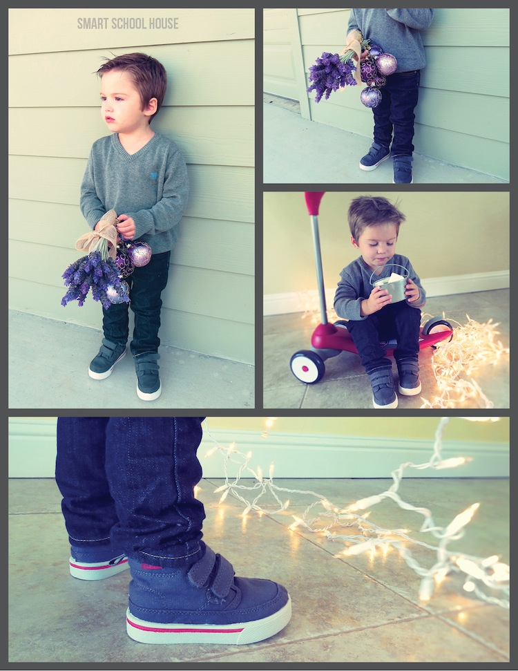 boho chic christmas stylish holiday card ideas with kids clothes from carters