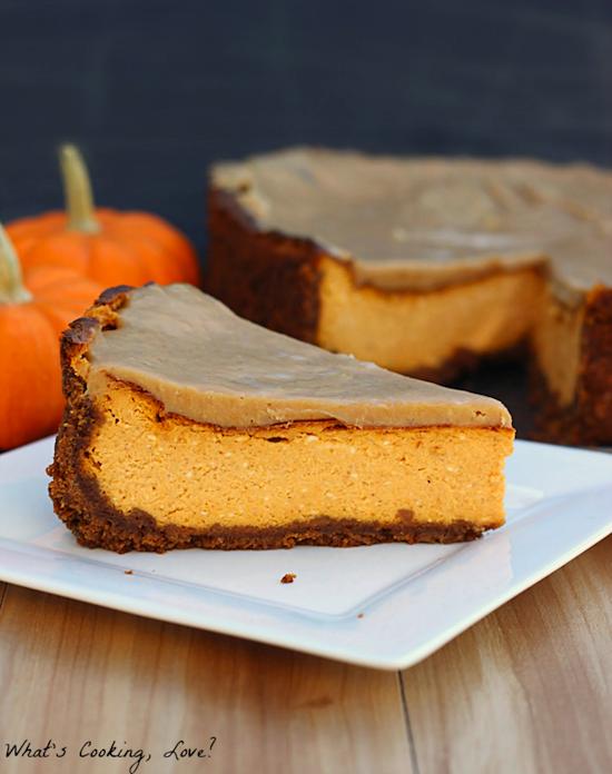 Biscoff Pumpkin Cheesecake