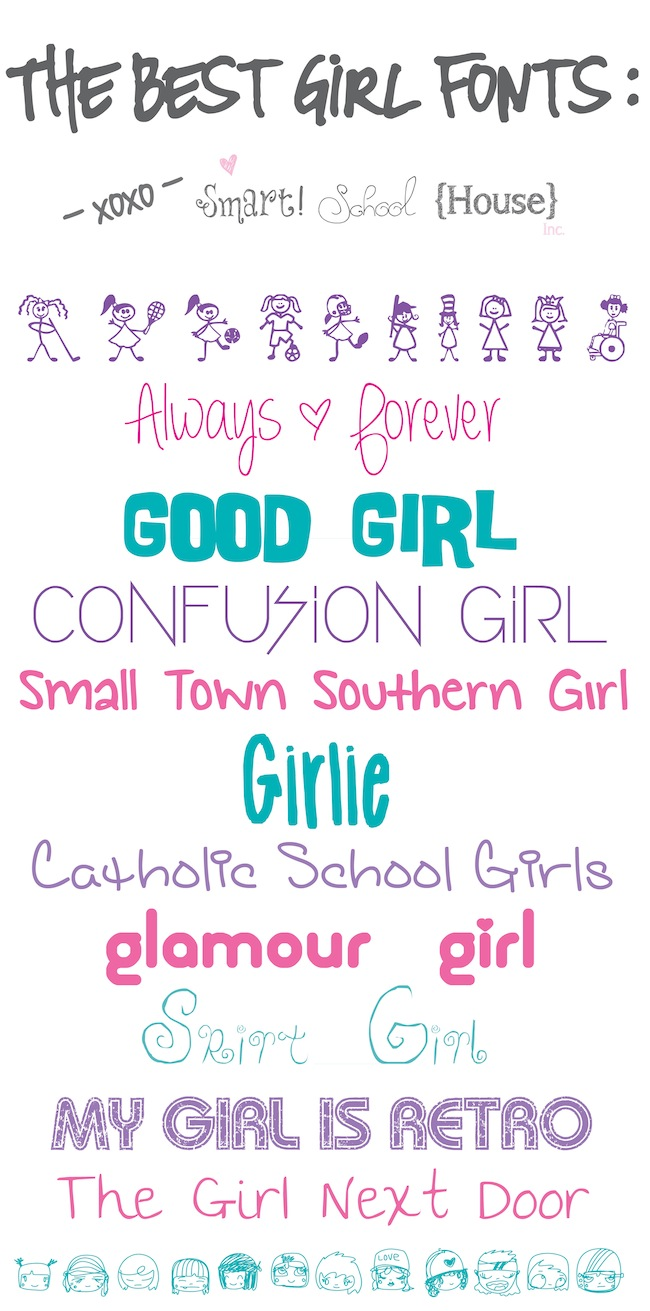 The Best Girl Font..