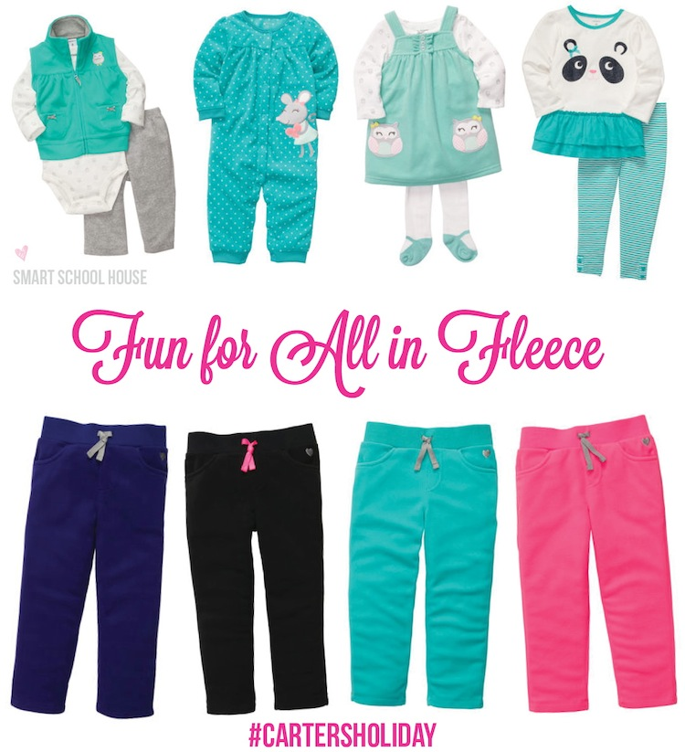 Fun for All in Fleece with Carter's! #CartersHoliday