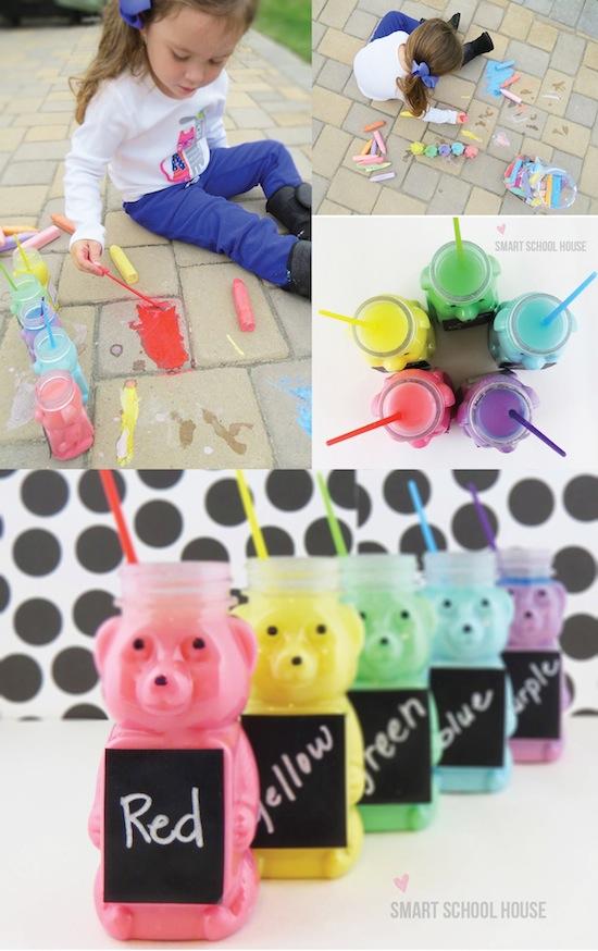 Honey Bear Chalk Paint Tutorial
