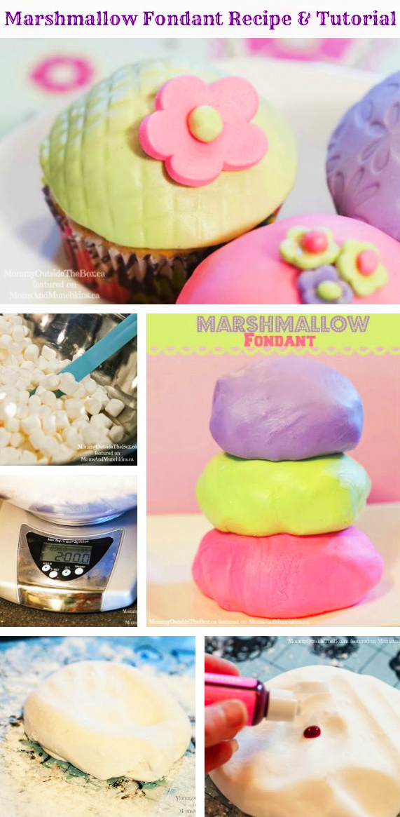 Easy Marshmallow Fondant Recipe and Tutorial!