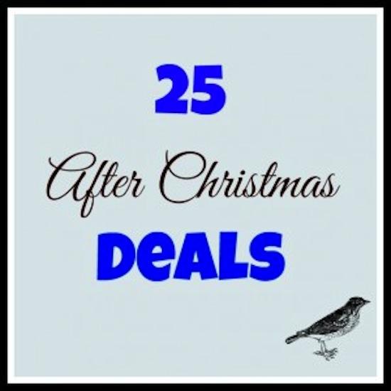 25 After Christmas Deals (to kick-start smarter spending in 2014)