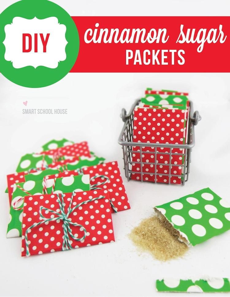 DIY Crafts- DIY Cinnamon Sugar Packets