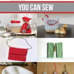 Handmade Xmas Gifts You Can Sew