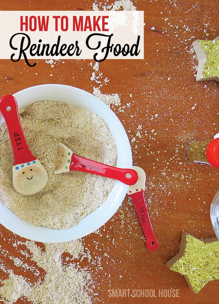 How to Make Reindeer Food. The best Christmas craft for kids!